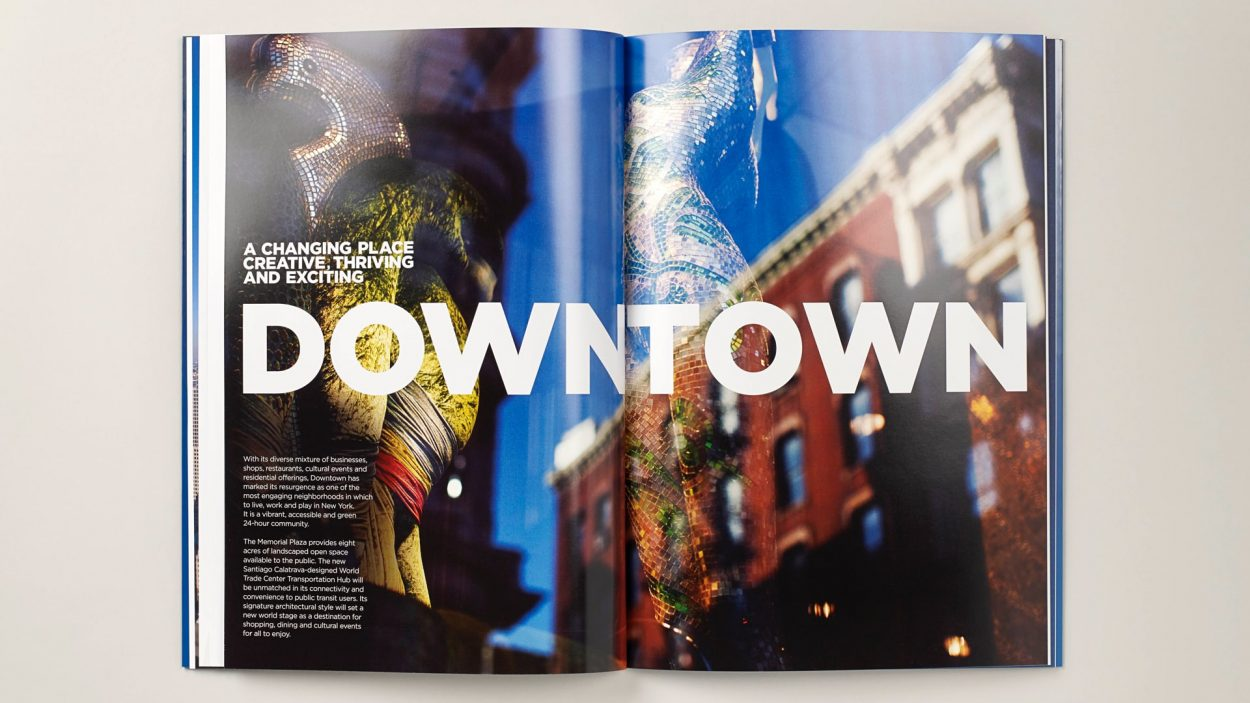 real estate branding for one world trade center New York - brochure 5