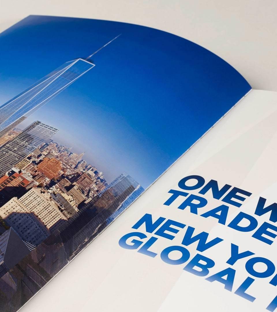 real estate branding for one world trade center New York - brochure 2