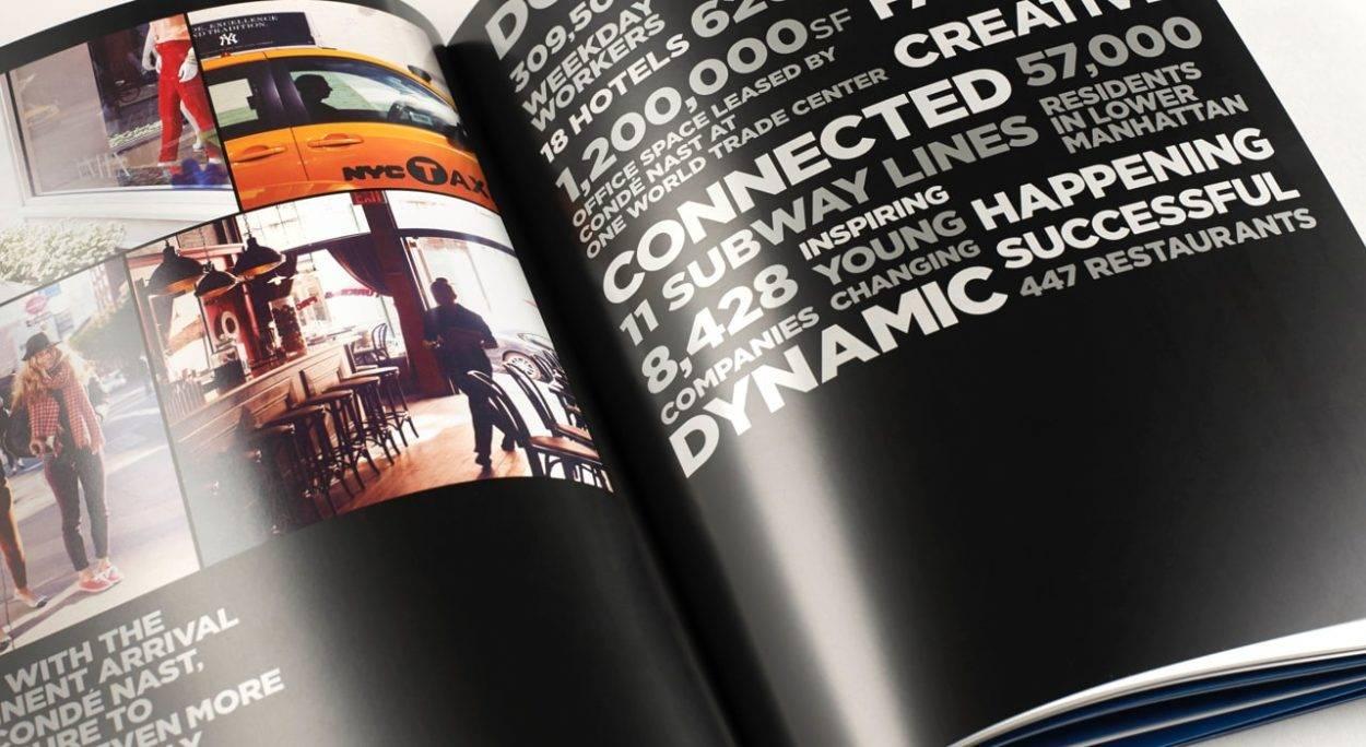 real estate branding for one world trade center New York - brochure 6