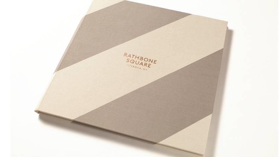 property marketing for rathbone square london - brochure