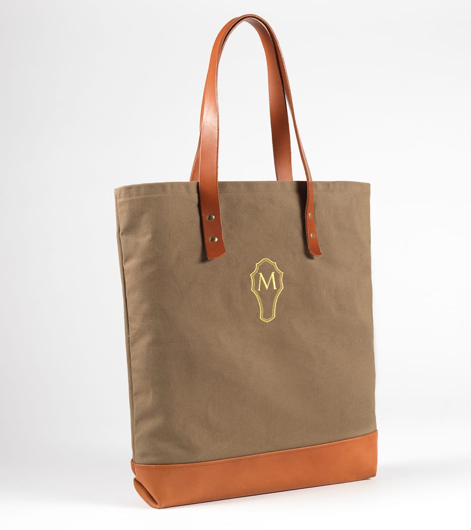 real estate branding for the marquand - bag