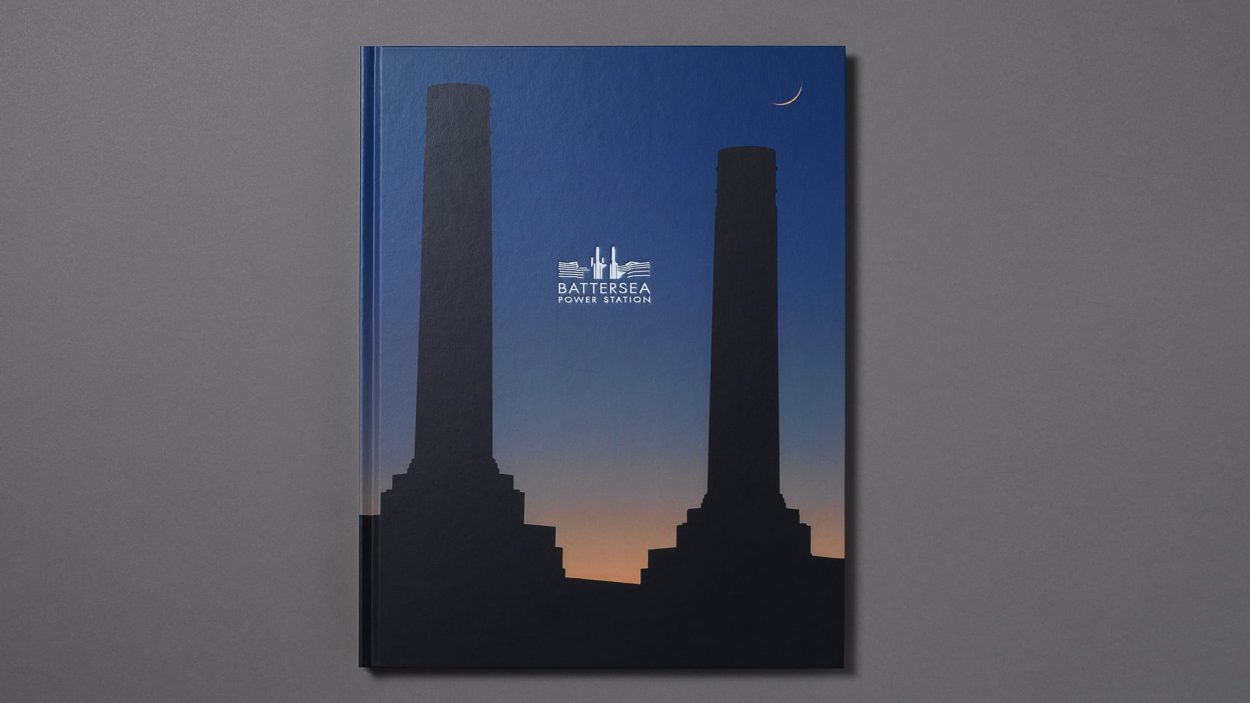branding for battersea power station, london