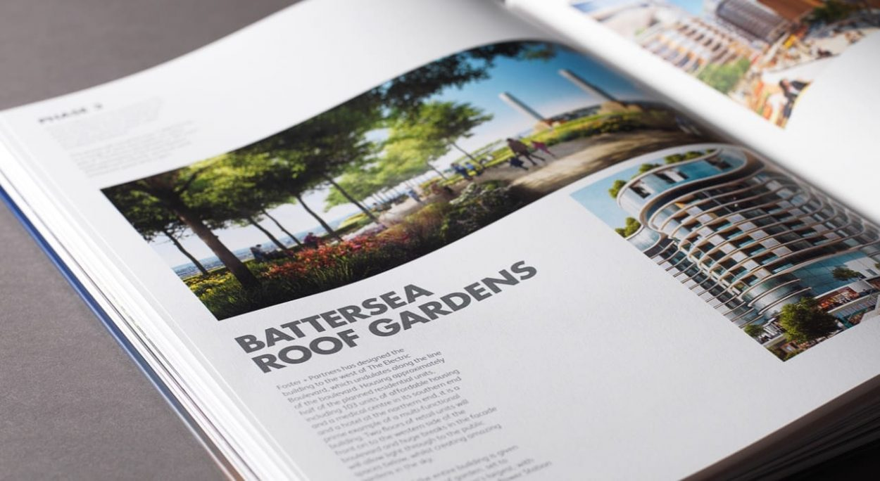 property marketing for battersea power station london - icon brochure 2