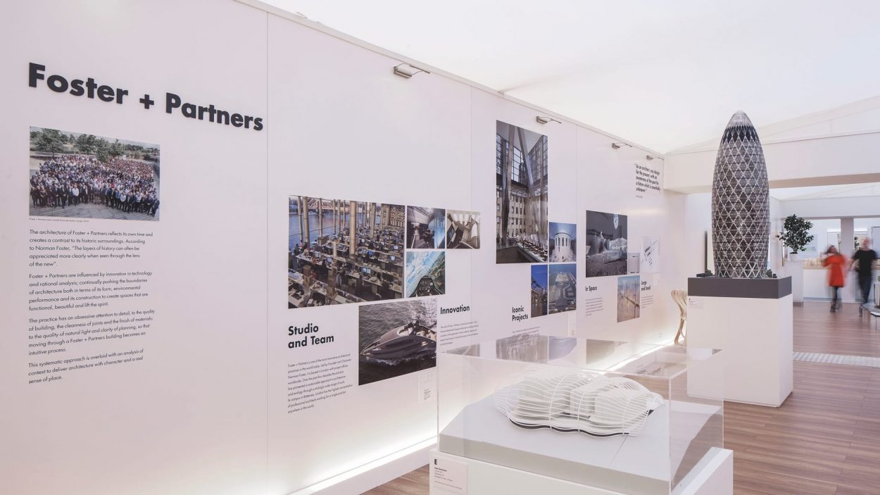 property marketing for battersea power station london - exhibition 1