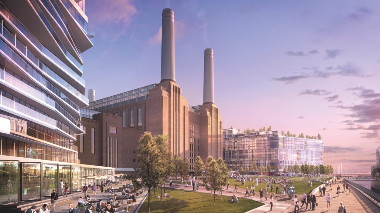 property marketing for battersea power station london - rendering 1