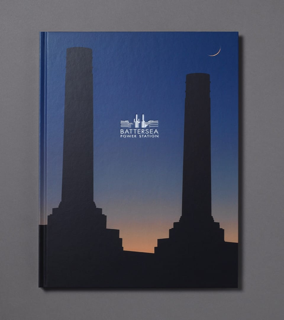 property marketing for battersea power station london - icon brochure