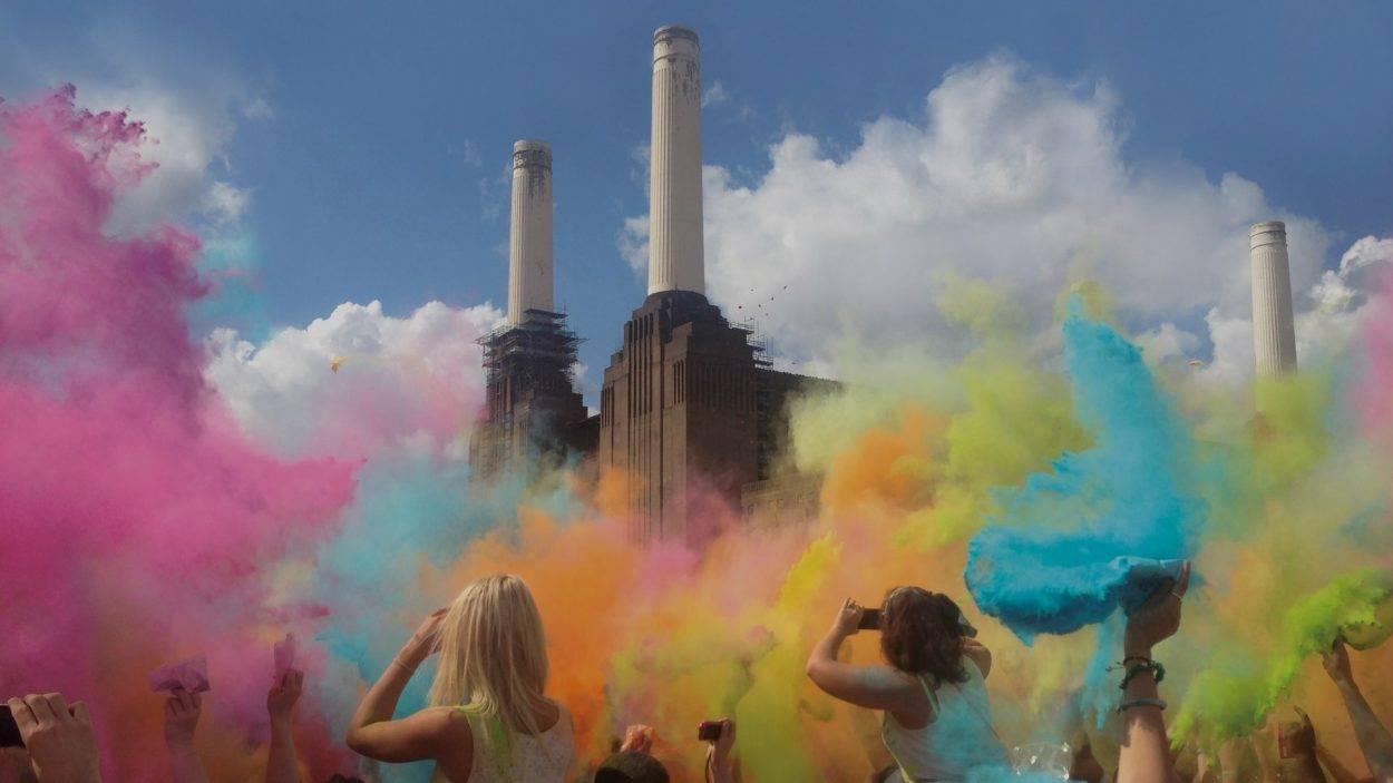 property branding for Battersea power station London - hero