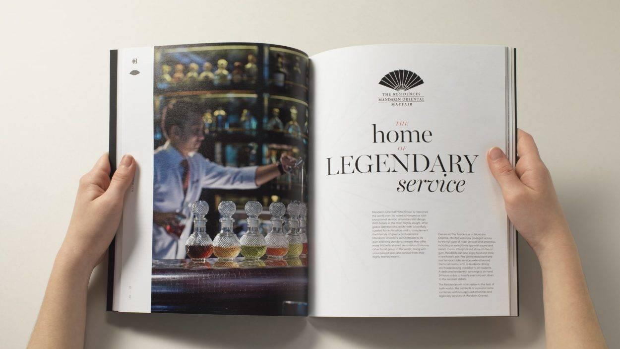 property marketing for hanover bond mandarin oriental london - brochure 3