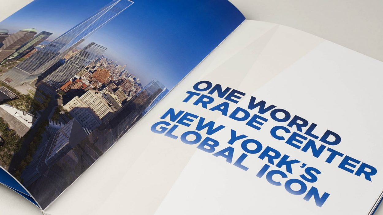 wordsearch - property branding for one world trade centre new york
