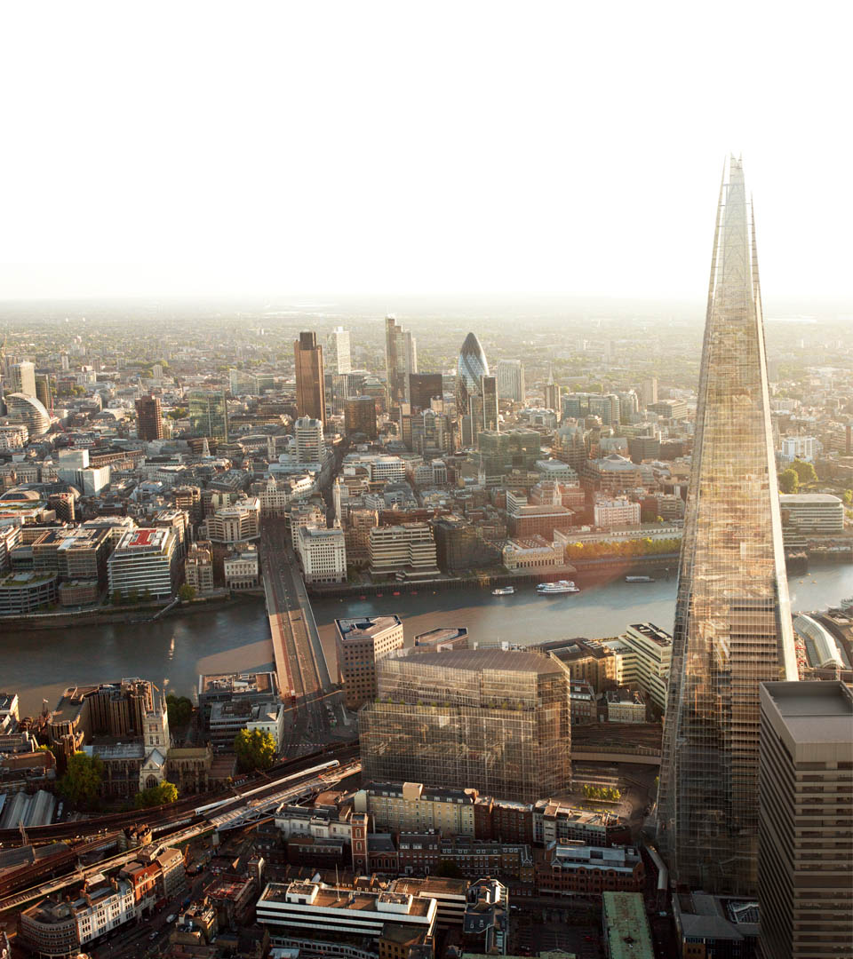 marketing for the shard - london - cgi