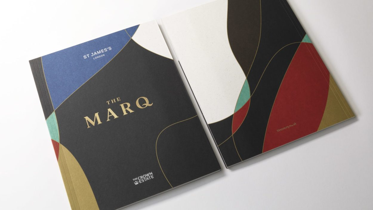 property marketing brochure for the marq | wordsearch