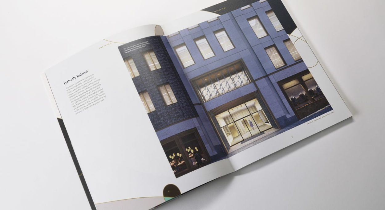 Property Marketing for The Marq London   brochure